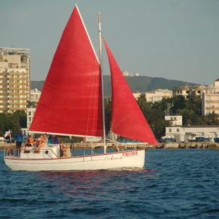 Яхта Ассоль морская прогулка