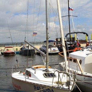 яхта для морской прогулки, рыбалки