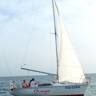 яхта Влада в Анапе
